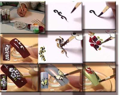 Пошагово дизайн ногтей в домашних условиях